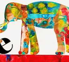 E is for Elephant by Kathy Panton