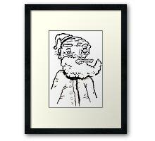 Ugly Santa 3 Framed Print