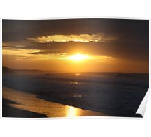 Sunrise over Point Lonsdale Poster