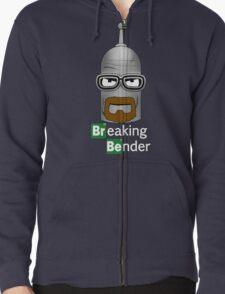 Breaking Bender Zipped Hoodie