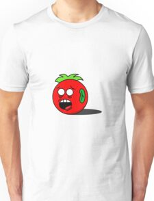 Worried Tomato Unisex T-Shirt