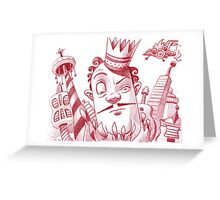 Mayor of Simple Town Greeting Card