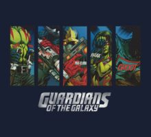 Guardians of the Galaxy with Logo by TylerOlson619