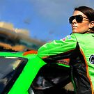 Danica Patrick Photo Painting by art-hammer