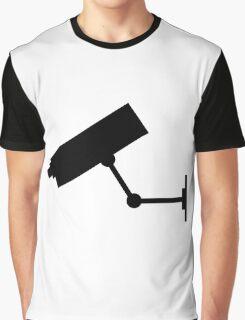 CCTV Symbol Graphic T-Shirt