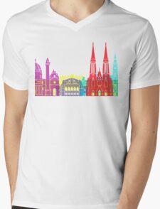 Vienna skyline pop Mens V-Neck T-Shirt