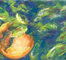 L'Orange II (pastel) by Niki Hilsabeck