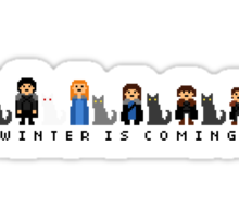 Happy Winter Family  Sticker