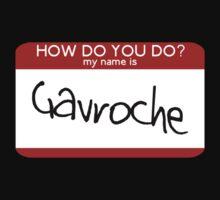 Hello Gavroche by rydiachacha