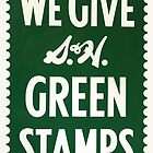 Green Stamps by James Eddy