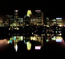 Minneapolis @ Night by Culrick99