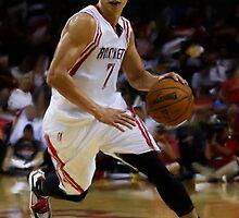 Houston Rockets Jeremy Lin by art-hammer