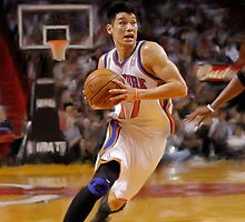 New York Knicks Jeremy Lin by art-hammer