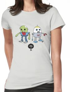 Zombie+Bot Womens Fitted T-Shirt