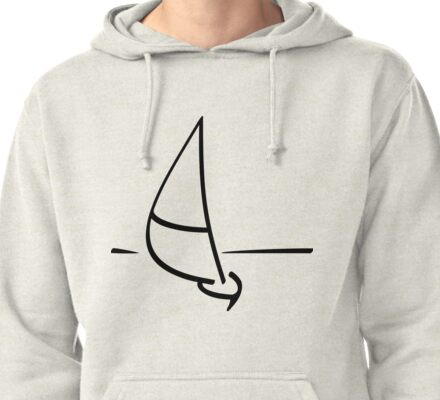 Sailboat Pullover Hoodie
