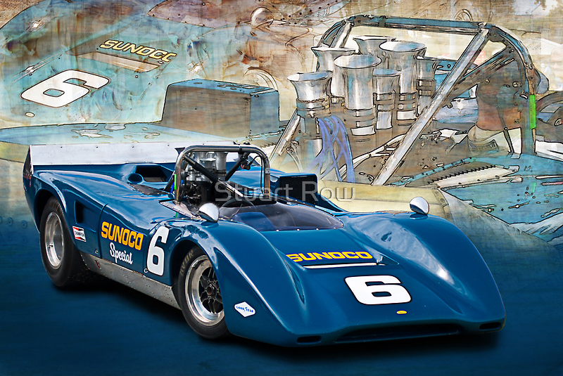 1969 Lola T163 Can-Am by Stuart Row