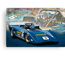 1969 Lola T163 Can-Am Canvas Print