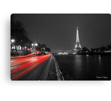 Eiffel tower VI Canvas Print