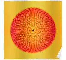 Citrus Sphere Poster