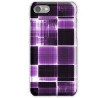 Grey black and White Purple iPhone Case/Skin