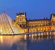 Louvre museum II by RomainChalaye