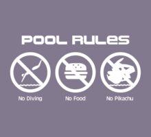 Pool Rules Kids Tee