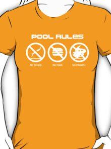 Pool Rules T-Shirt
