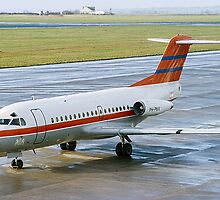 Fokker F28-1000 Fellowship PH-PBX by Colin Smedley