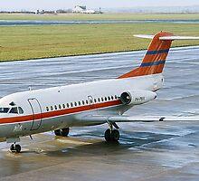 Fokker F28-1000 Fellowship PH-PBX by Colin Smedley