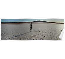 Lake Ballard  Sculptures W.A. Poster
