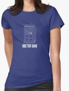 Doctor who, Tardis Womens Fitted T-Shirt