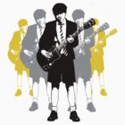 Taking the Lead - Angus Young by Alan Hogan