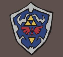 Hylian Shield by Meg Rickards