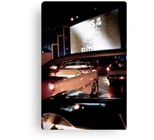 Drive In Canvas Print
