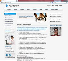 Business Due Diligence Check Services - Safe Hiring Worldwide by safehiring