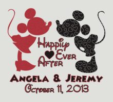 Mickey & Minnie Mouse Happily Ever After Personalized ~DO NOT PURCHASE THIS LISTING! CONTACT ME by sweetsisters