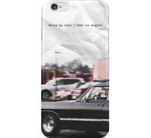 below my soul iPhone Case/Skin