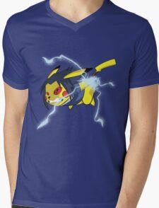 Pikachidori Mens V-Neck T-Shirt