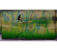Surf Graffiti Photographic Print