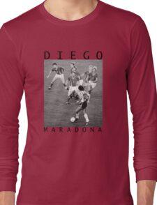 Diego Maradona Long Sleeve T-Shirt