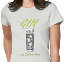 Gin Mothers Ruin Womens Fitted T-Shirt