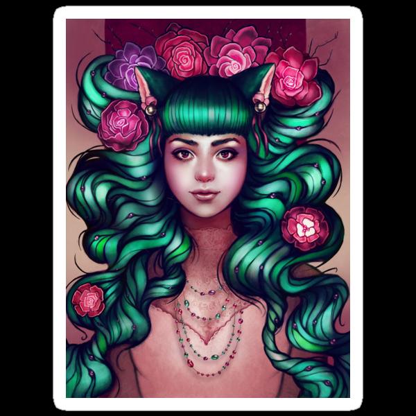Delilah - STICKER by MeganLara