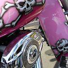 Skulled up Harley by Perggals© - Stacey Turner