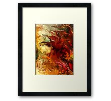 Abstraction surrealist by rafi talby Framed Print