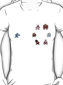 Megaman and Bosses 1 T-Shirt