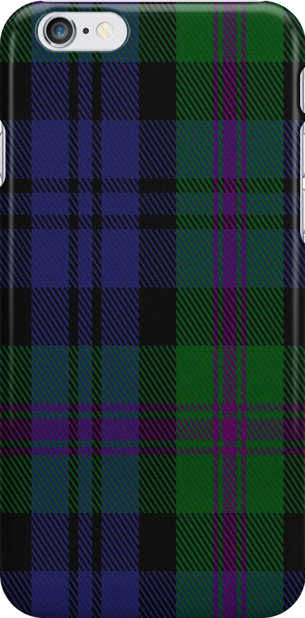 01625 Baird (Modern) Family/Clan Tartan Fabric Print Iphone Case by Detnecs2013