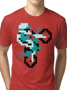 Excite Bike Turquoise Tri-blend T-Shirt
