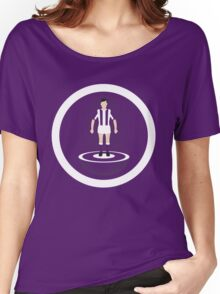 Subbuteo stripped Women's Relaxed Fit T-Shirt