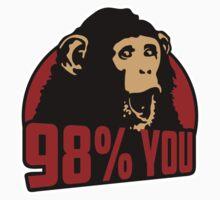 98 percent you monkey Kids Tee