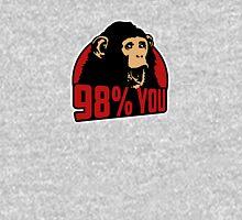 98 percent you monkey Unisex T-Shirt